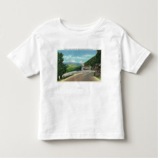 Mohawk Trail Hairpin Turn & Observation Tower Toddler T-Shirt
