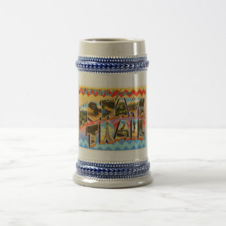 Mohawk Trail Massachusetts MA Old Travel Souvenir Beer Stein