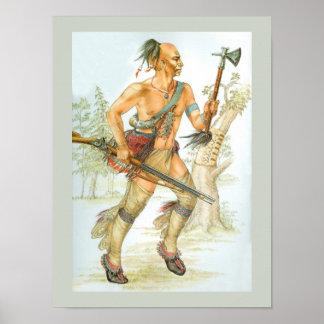 Mohawk warrior poster