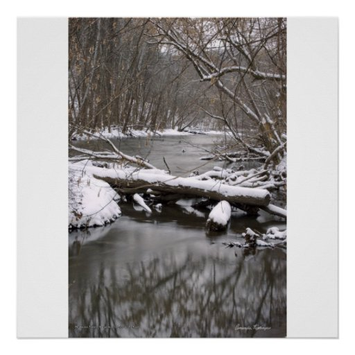 Mohican River Print