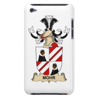 Mohr Family Crest Barely There iPod Covers
