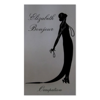 Moi Fashion Plate ~ Business Card
