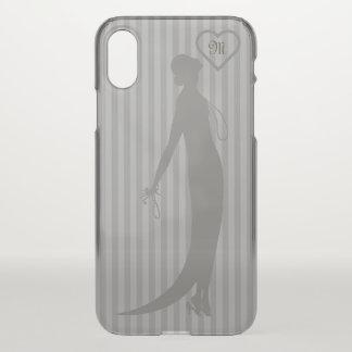 Moi Fashions CHANGE COLOR Monogram - iPhone X Case