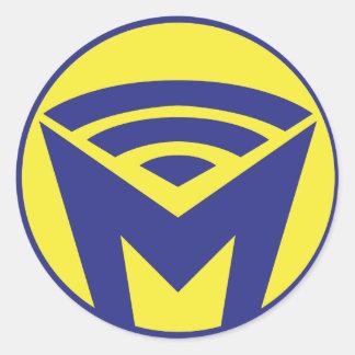 MOI - The Sticker! Classic Round Sticker