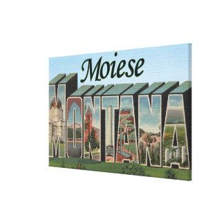 Moiese, Montana Canvas Print