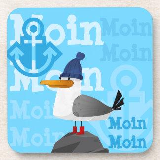 """""""Moin Moin"""" Seagull Coaster"""