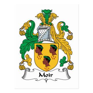 Moir Family Crest Postcard