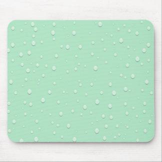 Moisture Auqa Rain Water Drops Mouse Pad