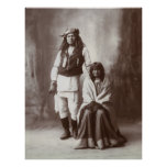 Mojave Apache Couple, 1890s Posters