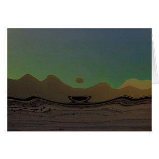 Mojave Morn Greeting Card