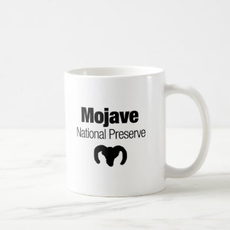 Mojave National Preserve Basic White Mug