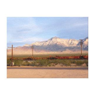 Mojave National Preserve California Canvas Print