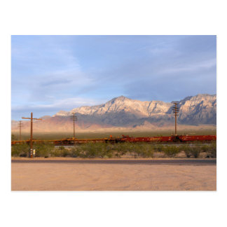 Mojave National Preserve California Postcard