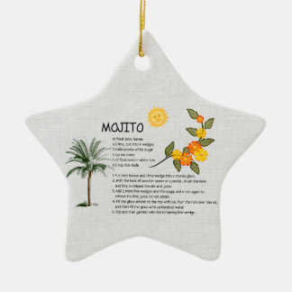 Mojito Christmas Ornament