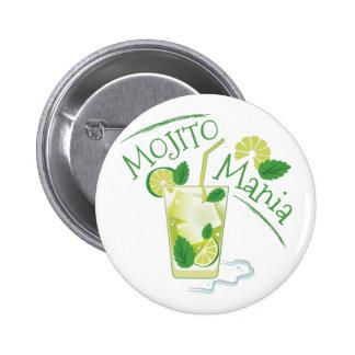Mojito Mania 6 Cm Round Badge