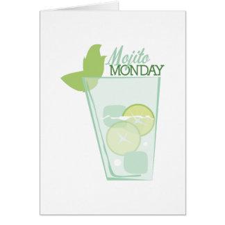 Mojito Monday Greeting Card
