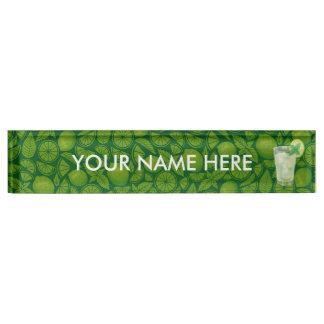 Mojito Name Plate