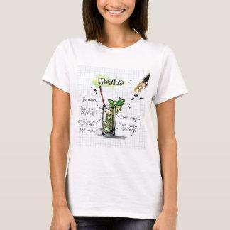 Mojito Recipe - Cocktail Gift T-Shirt