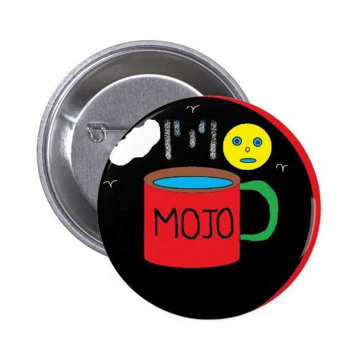 mojo 6 cm round badge