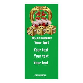 Mojo Fast Luck Custom Rack Cards