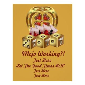 Mojo Fast Luck  Mojo Workin! 21.5 Cm X 28 Cm Flyer
