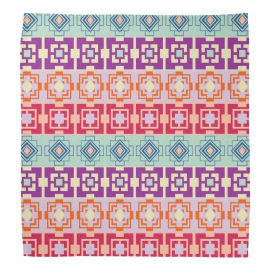 Mojo Hip Aztec Pattern Bandanna