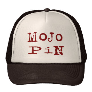 Mojo Pin Mesh Hat