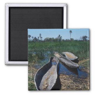 Mokoro's Okavango Delta, Botswana Magnet