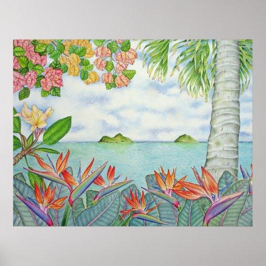 Mokuluas, Hawaii Poster