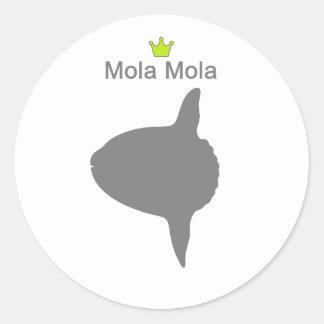 Mola Mola g5 Round Sticker