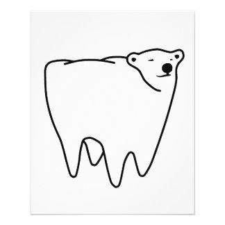 Molar Bear Polar Tooth Bear Full Color Flyer