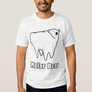Molar Bear Polar Tooth Bear Tee Shirts