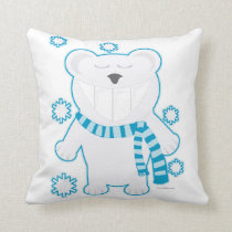 Molar Bear with Scarf Cushion