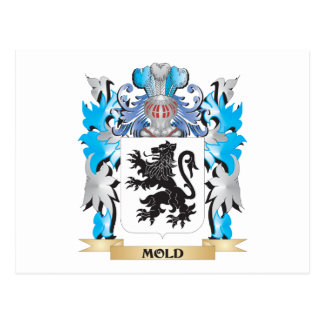 Mold Coat of Arms - Family Crest Post Card