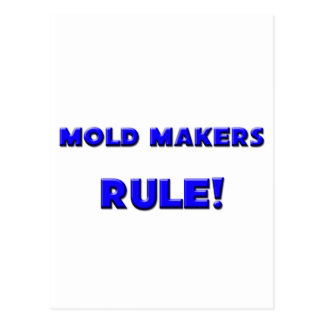 Mold Makers Rule Postcards