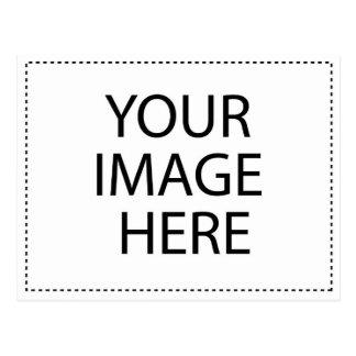 Molde horizontal do cartão cartao postal