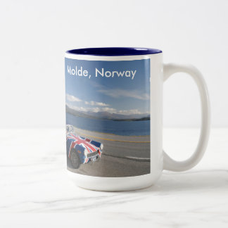 molde, norway Two-Tone coffee mug