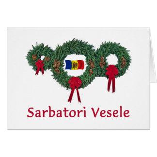 Moldova Christmas 2 Card