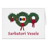 Moldova Christmas 2 Greeting Card
