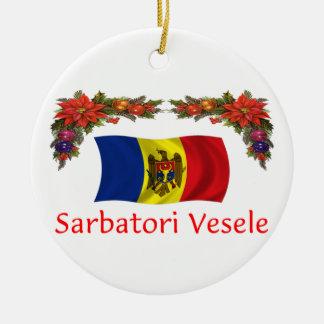 Moldova Christmas Christmas Ornament