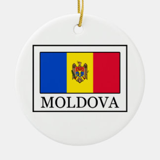 Moldova Christmas Ornament