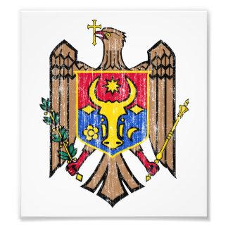 Moldova Coat Of Arms Photo Art