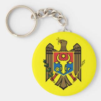 Moldova country flag nation symbol republic key ring