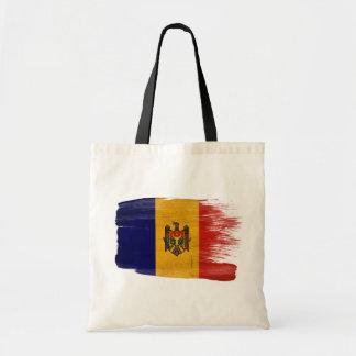 Moldova Flag Canvas Bags