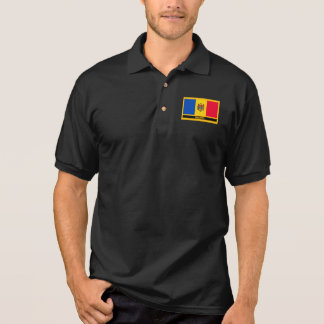 Moldova Flag Polo Shirt