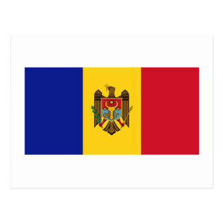 Moldova Flag Postcard