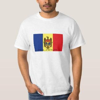 Moldova flag souvenir tshirt