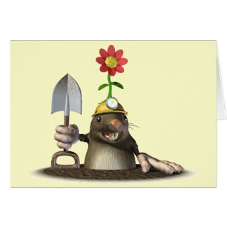 Mole in a Hole Card