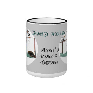 Mole Johann remain calmly… cup of Nr.2 Ringer Mug