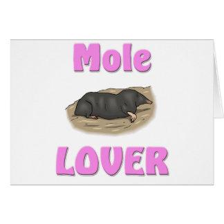 Mole Lover Card